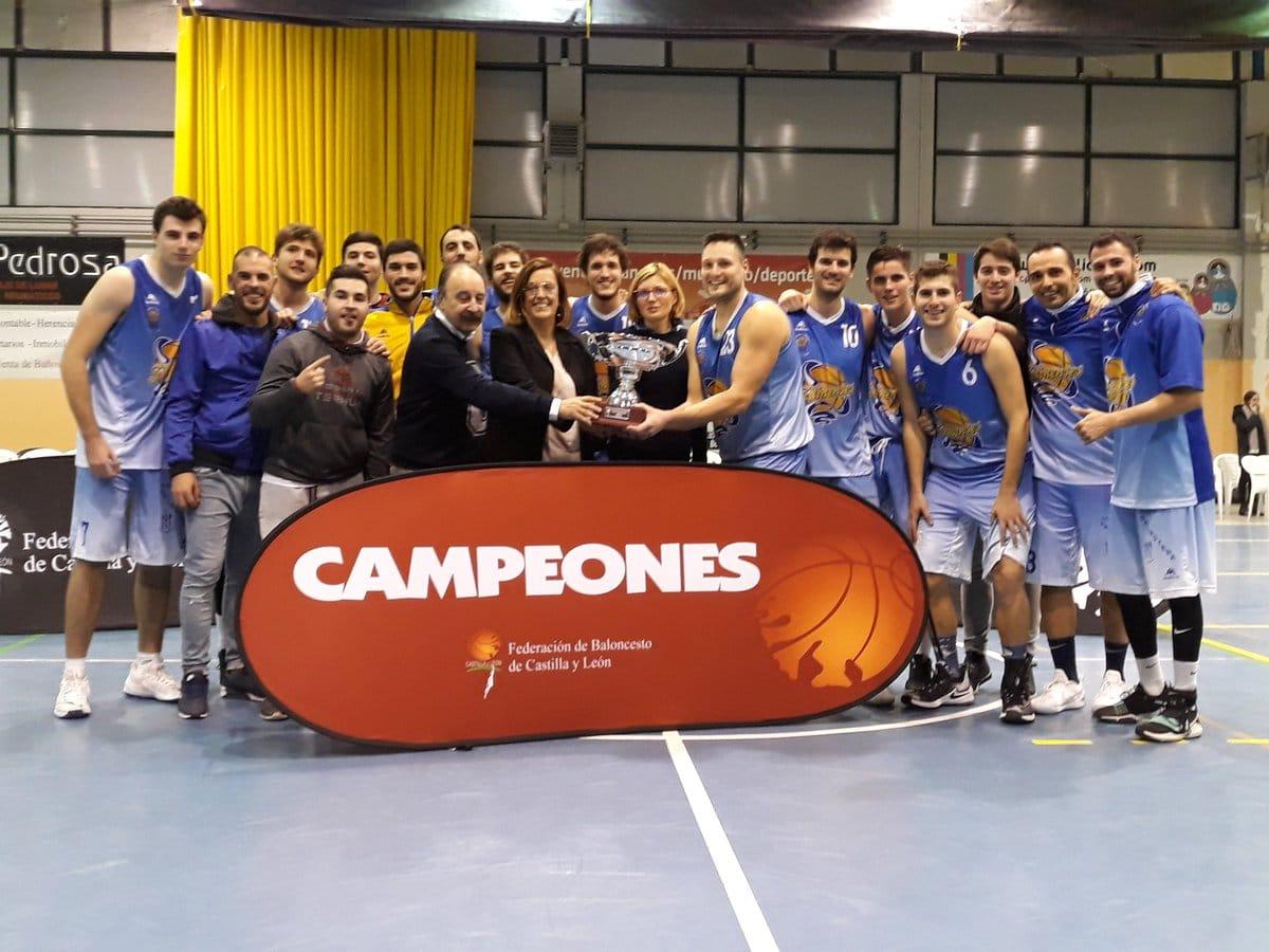 Club deportivo Blanca de Castilla campeón de la Copa Castilla y León de 1ª división masculina