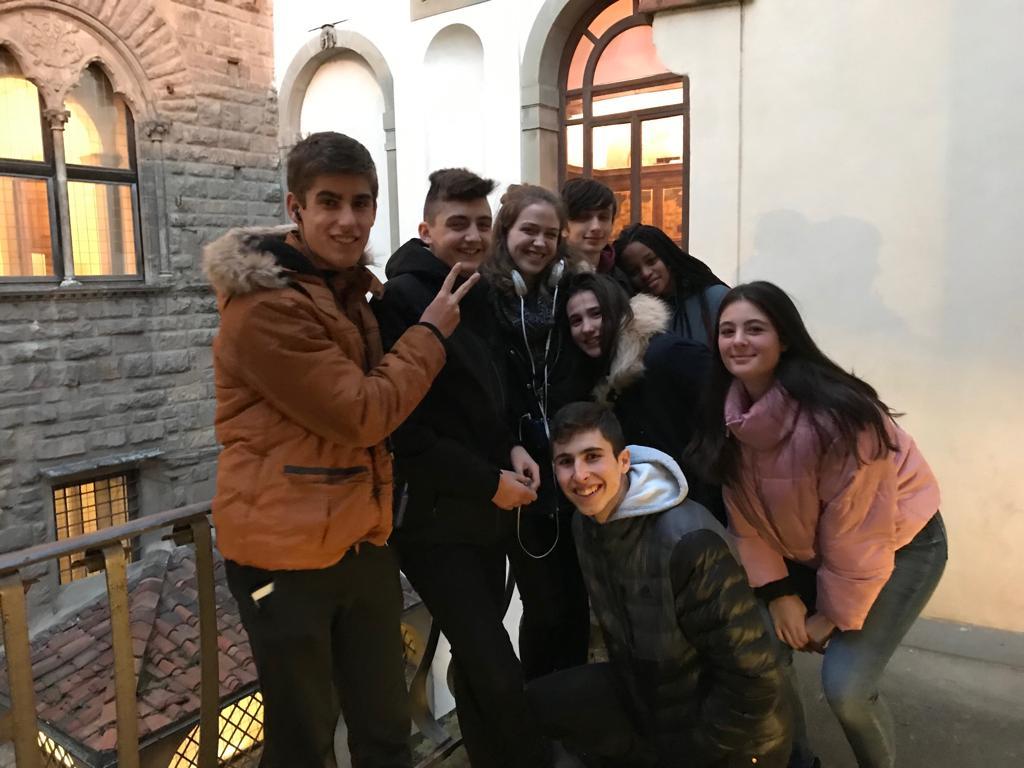 Tercer día en Florencia de los alumnos del Colegio Blanca de Castilla