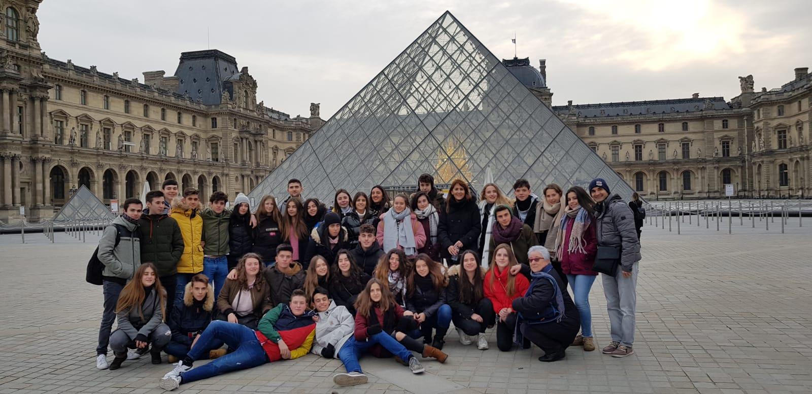 Segundo día en París de los alumnos de 2º de bachillerato del Colegio Blanca de Castilla (18-19)