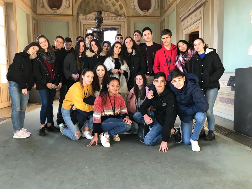 Sabado en Florencia de los alumnos del Colegio Blanca de Castilla (18-19)