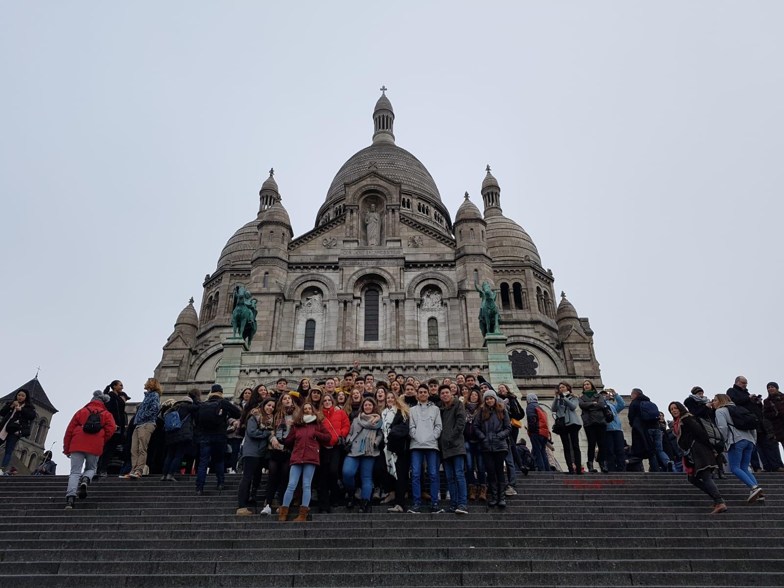 Tercer día en París de los alumnos de 2º bachillerato del Colegio Blanca de Castilla (18-19)