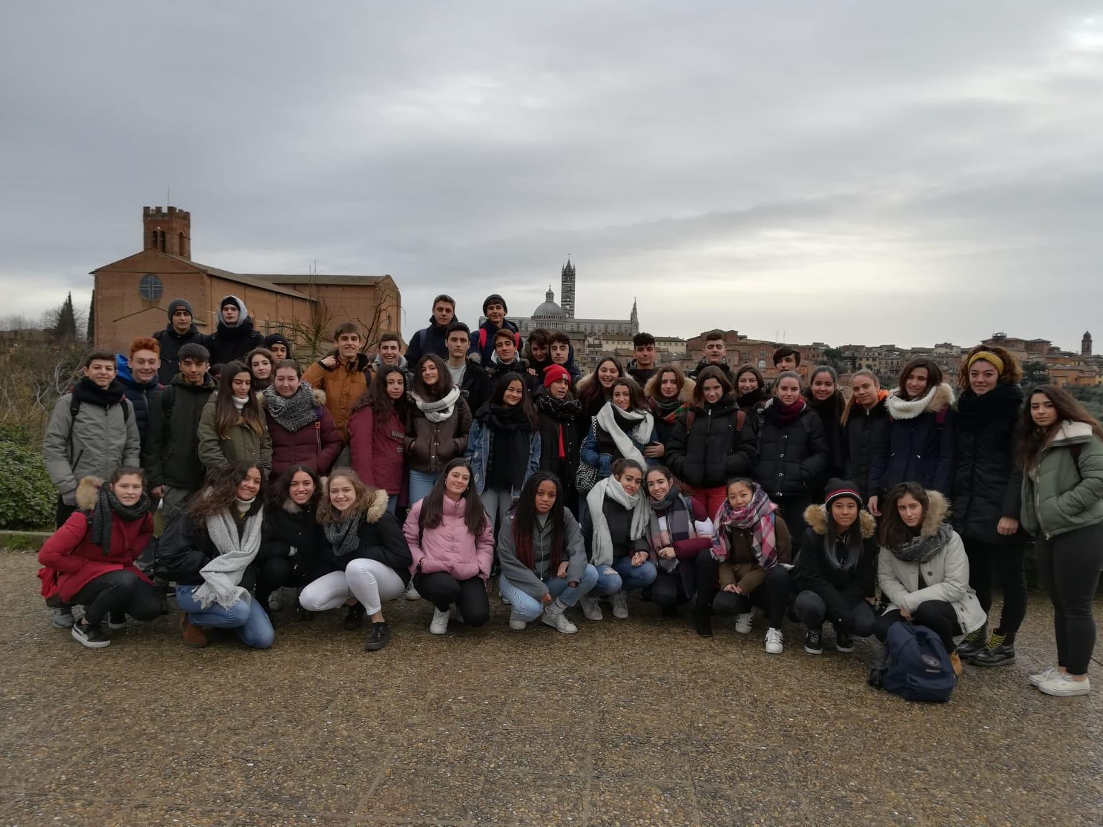 Visita a Siena y San Gimignuano de los alumnos del Colegio Blanca de Castilla (2018-19)