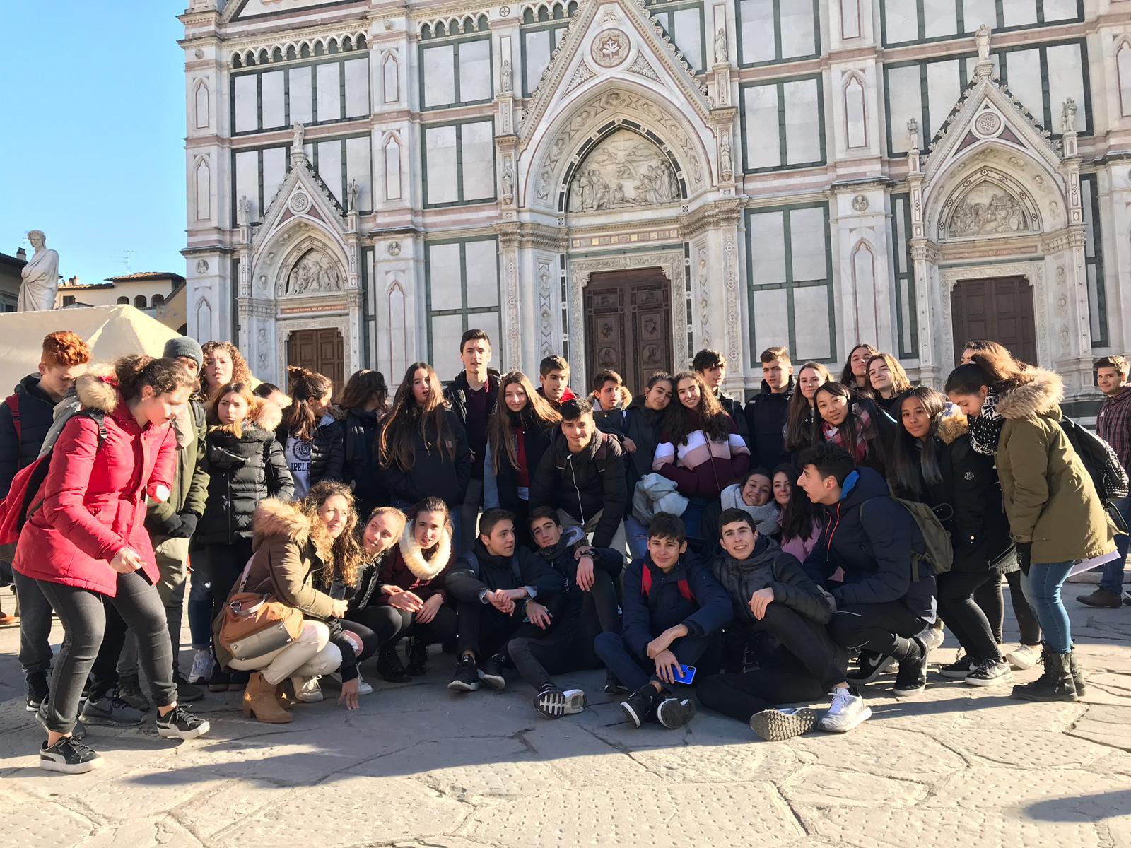 Último día en Florencia de los alumnos del Colegio Blanca de Castilla (2018-19)