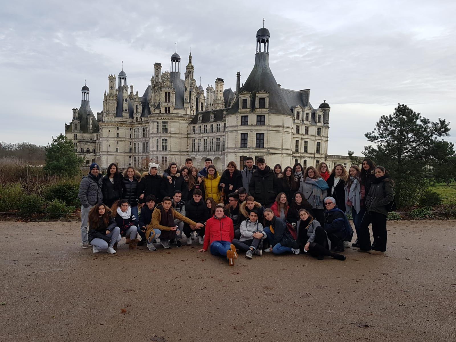 Última parada para los alumnos de 2º bachillerato del Colegio Blanca de Castilla, Burdeos