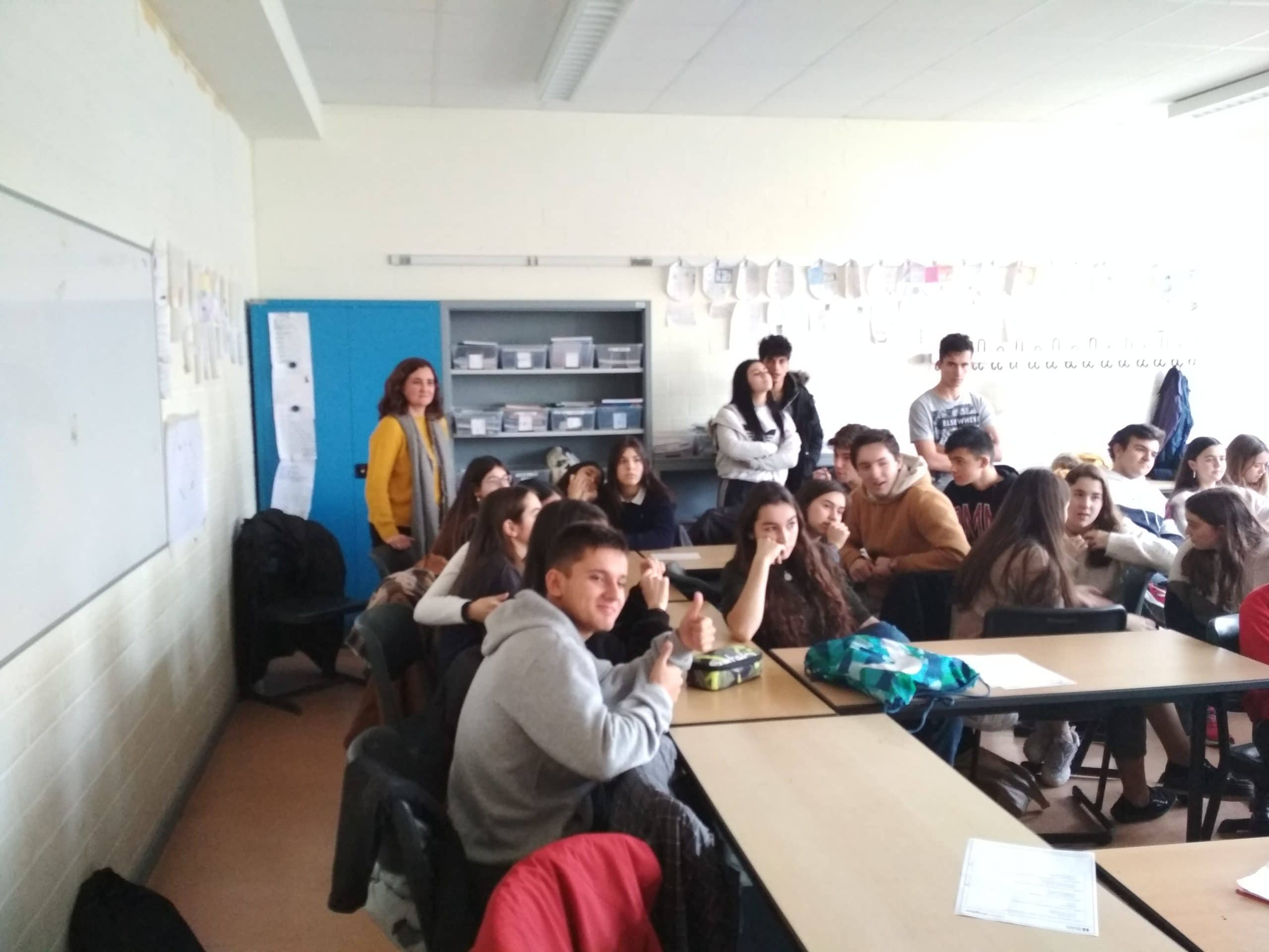 Último día en Bonn de los alumnos del Colegio Blanca de Castilla (2018-19)
