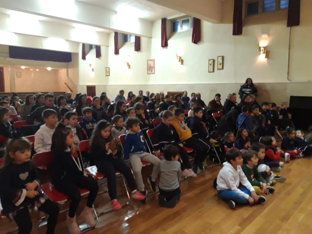 Cuentacuentos organizado por el AMPA del Colegio Blanca de Castilla de Palencia