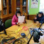 Taller de radio Onda Filipense del Colegio Blanca de Castilla de Palencia