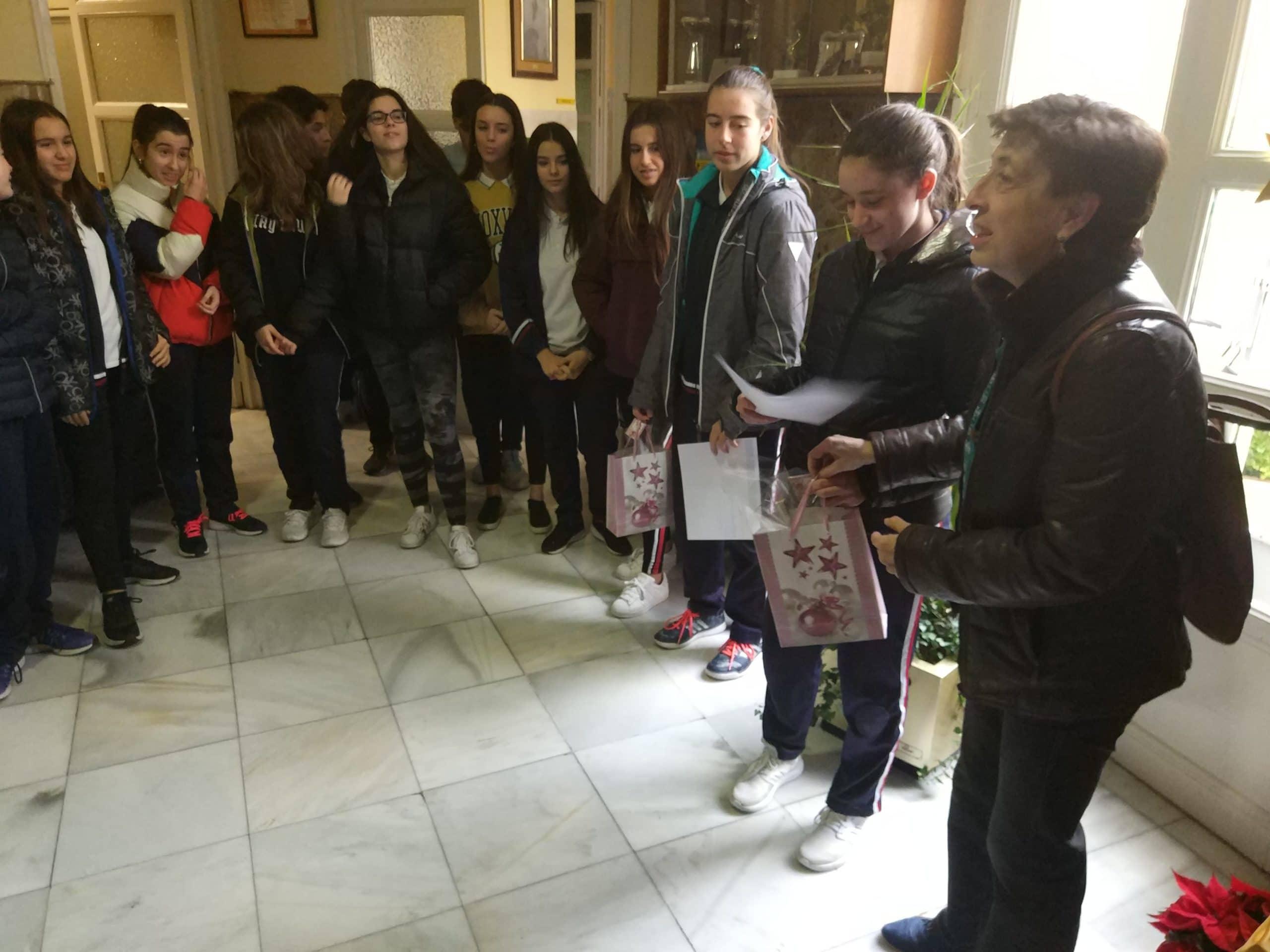I Certamen de microrrelatos y poesía de Navidad Colegio Filipense Blanca de Castilla
