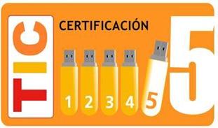 Certificación TIC 5 del Colegio Filipense Blanca de Castilla de Palencia