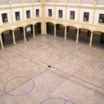 Patio central del Colegio Blanca de Castilla
