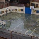 Patio exterior del Colegio Blanca de Castilla