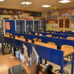 Laboratorio de biología - Colegio Blanca de Castilla