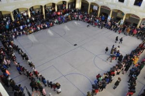 Jornada mundial por la paz 2019 - Colegio Blanca de Castilla