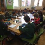 Biblioteca escolar del Colegio Blanca de Castilla