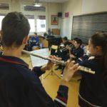 Aula de música del Colegio Blanca de Castilla