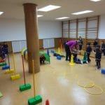 Sala de psicomotricidad Ed. Infantil del Colegio Blanca de Castilla