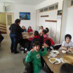 Segundo día de inmersión lingüística de los alumnos de 4º de Educación Primaria