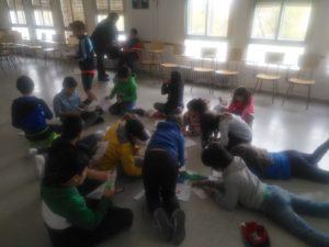 Tercer día de inmersión lingüística de los alumnos de 4º de Educación Primaria