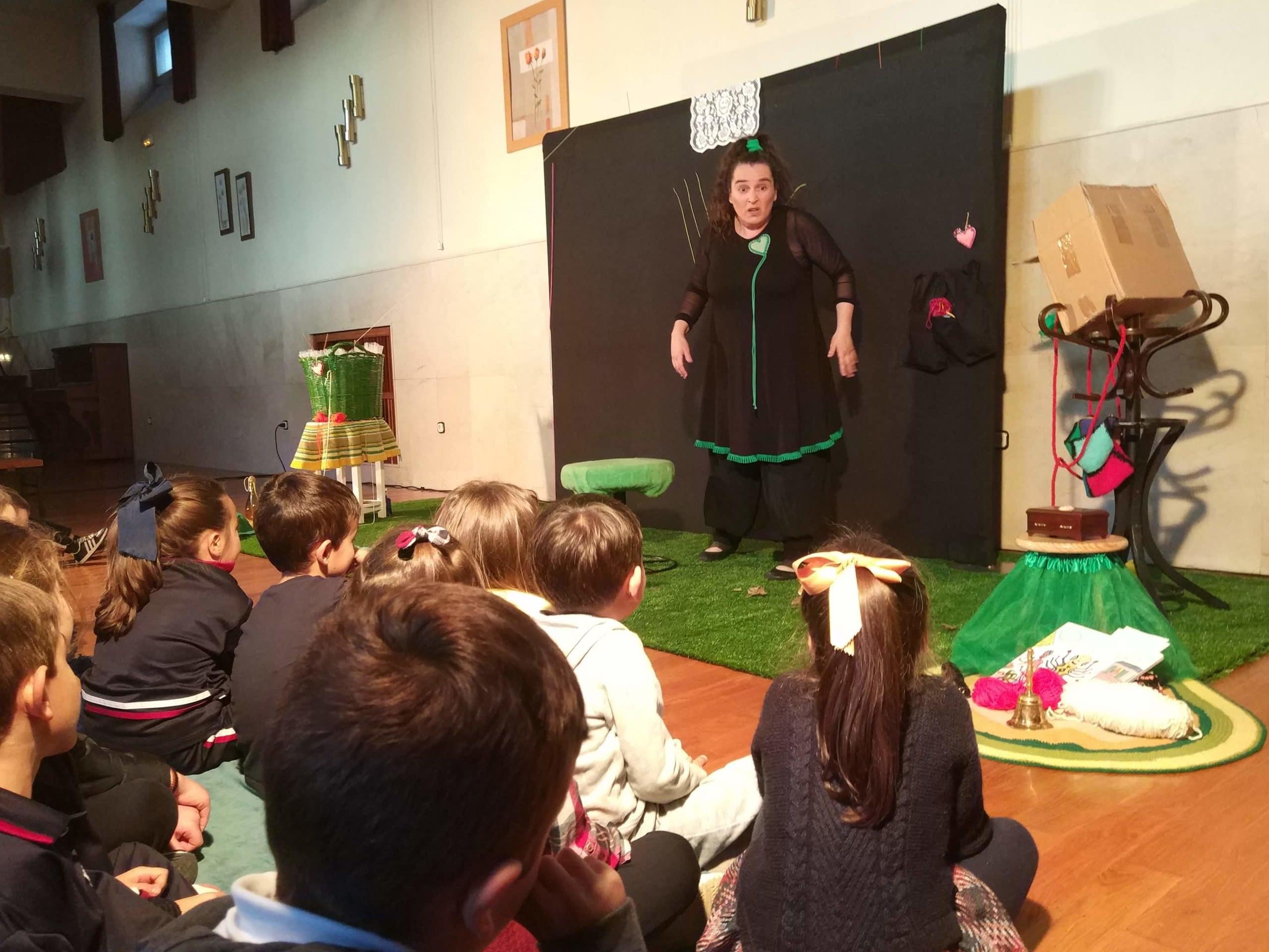 Cuentacuentos AMPA por Pez Luna teatro