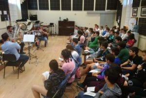 aula de música palencia