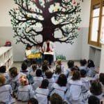 1º de Educación Infantil recorre el colegio