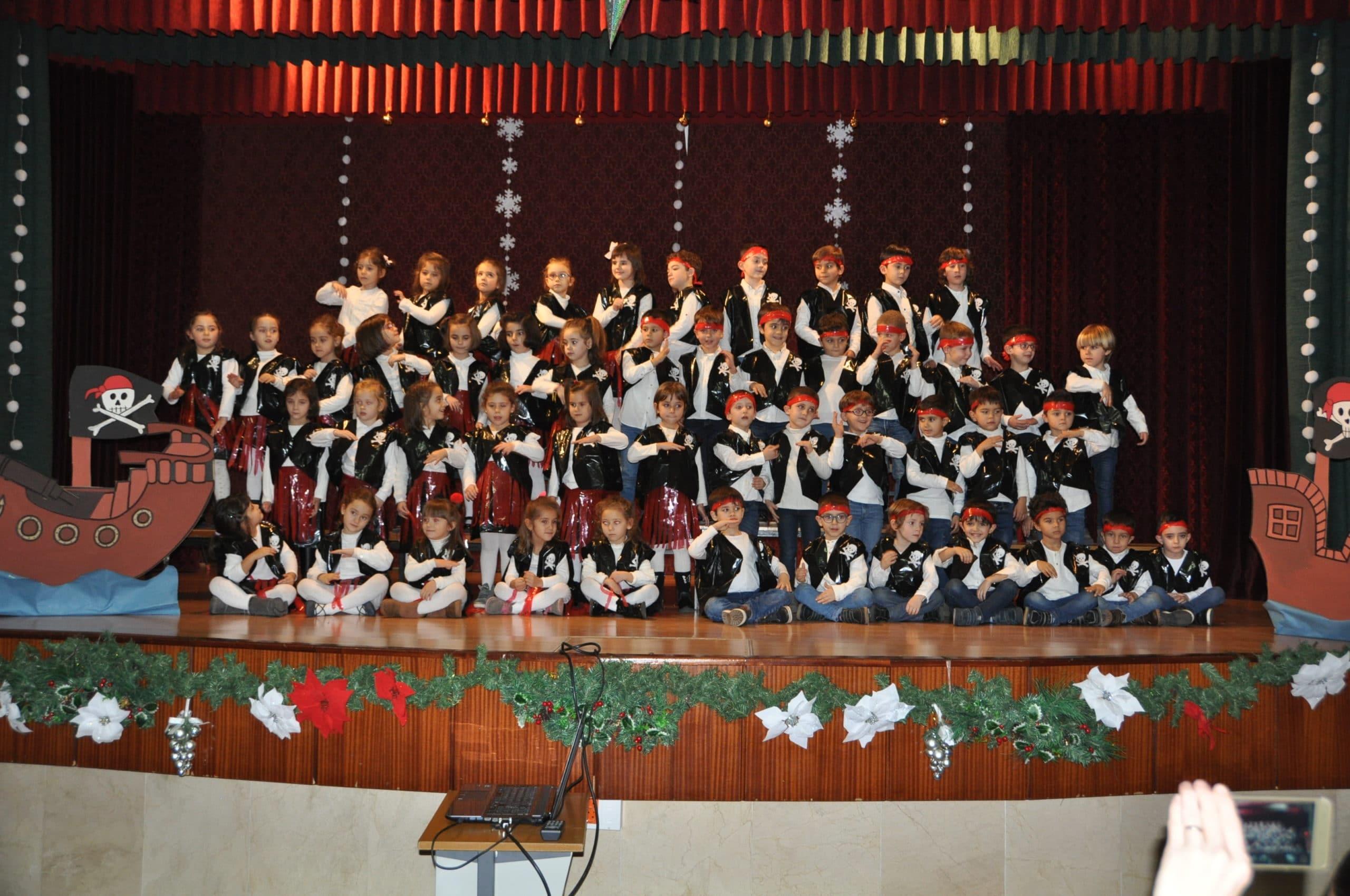 Festival de Villancicos de los alumnos de 3º de Educación Infantil del Colegio Blanca de Castilla