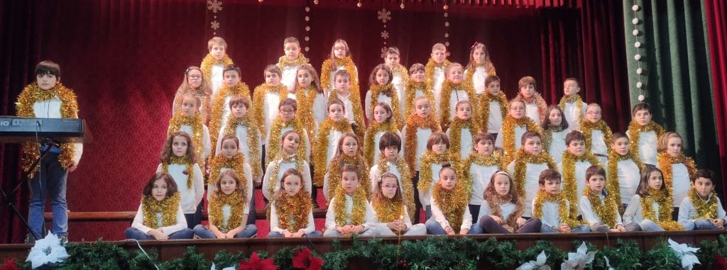 Festival de villancicos de Educación Primaria (4º EPO) del Colegio Blanca de Castilla de Palencia