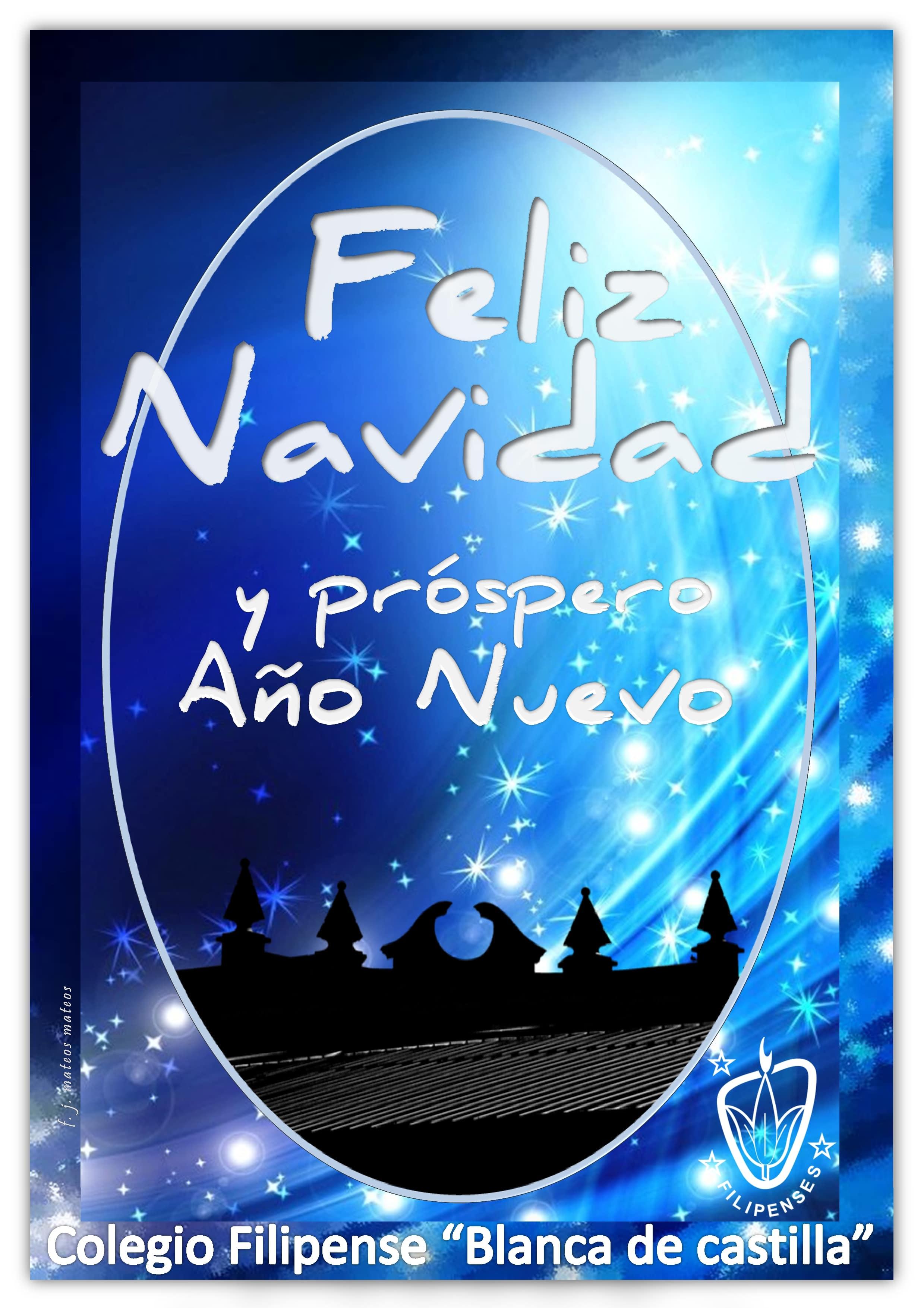 Feliz Navidad a toda la Comunidad Educativa de Colegio Blanca de Castilla de Palencia 2019-20