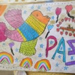 """Celebración del día de la PAZ del Colegio Filipense """"Blanca de Castilla"""" de Palencia (curso 2019-20)"""
