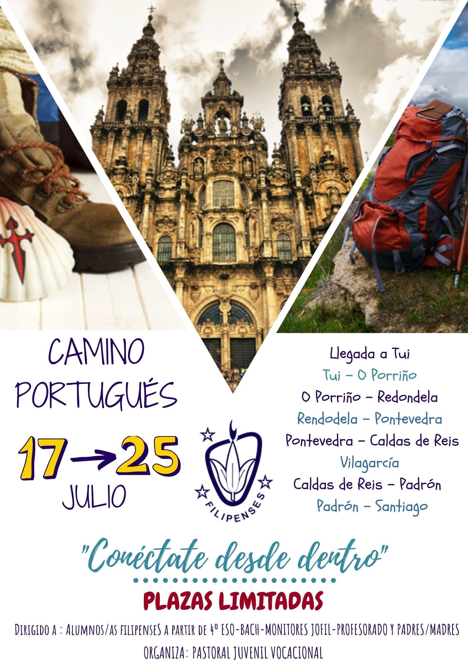 Camino de Santiago en familia Filipense