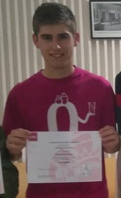 Alvaro clasificado para la fase nacional de OME