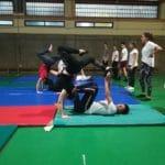 XIII Muestra de Acrosport del Colegio Filipense Blanca de Castilla de Palencia