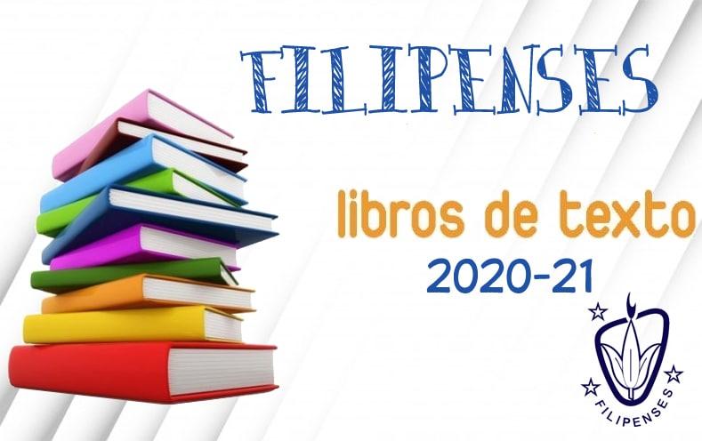 Libros de texto curso 2020-21 del Colegio Filipense Blanca de Castilla de Palencia