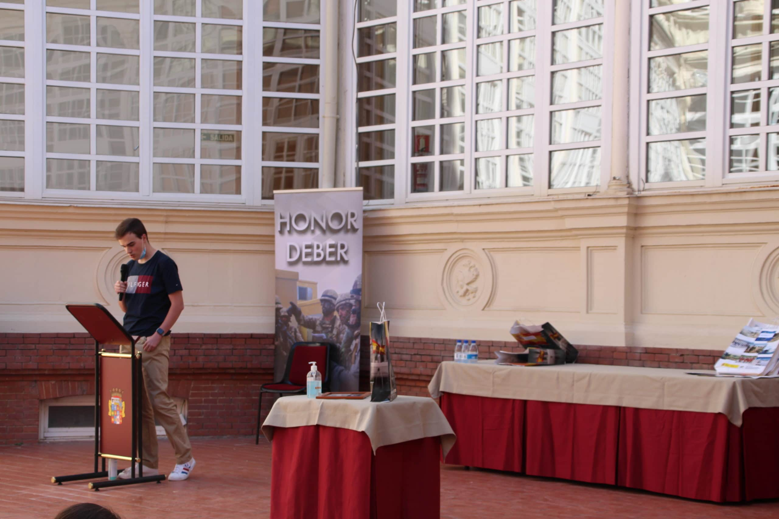 VII concurso literario escolar nacional Carta a un militar español (Palencia)