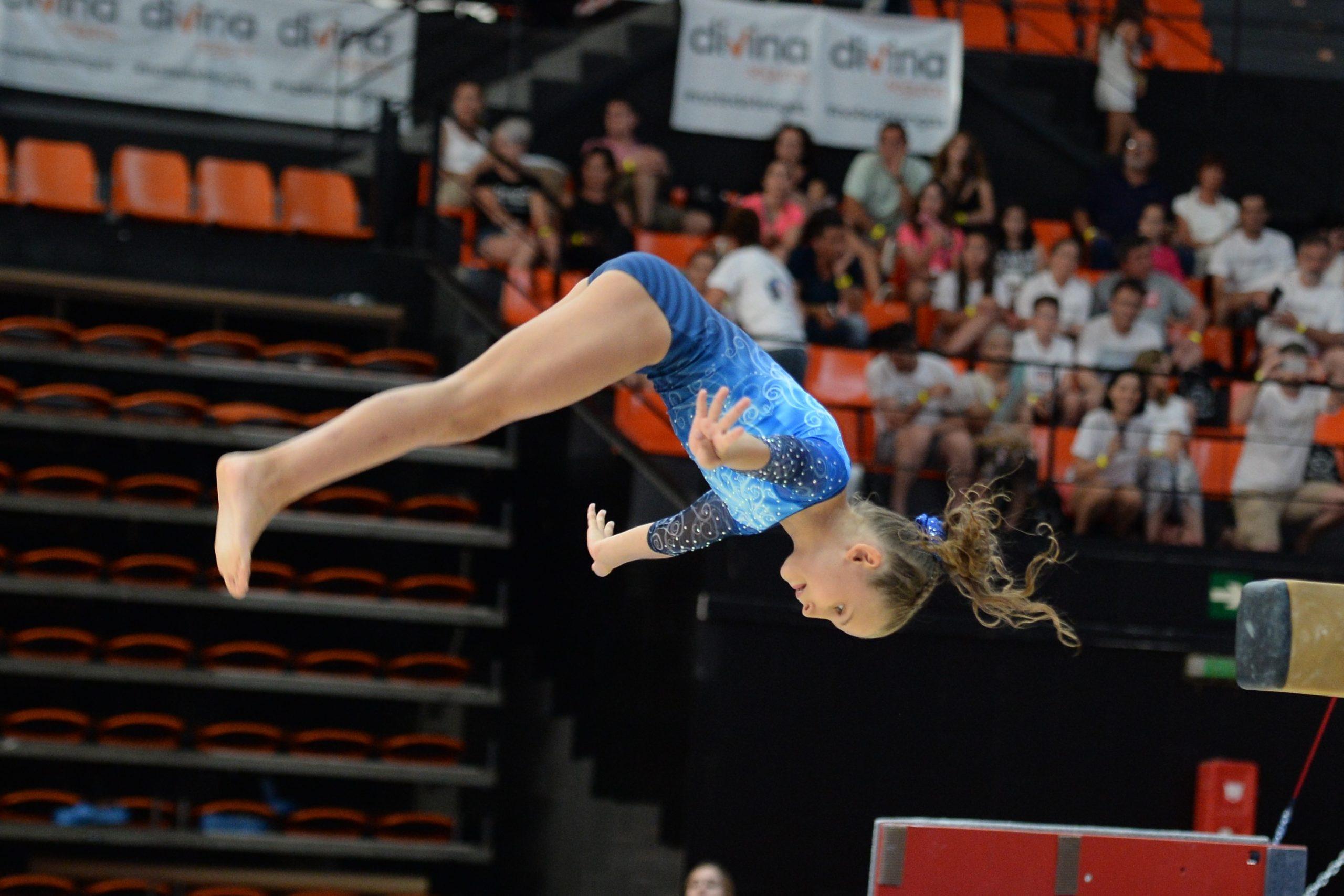 Ainara Rivera Relea, tercer puesto en salto en el Campeonato de España Individual, clubes y Autonomías de Gimnasia Acrobática.