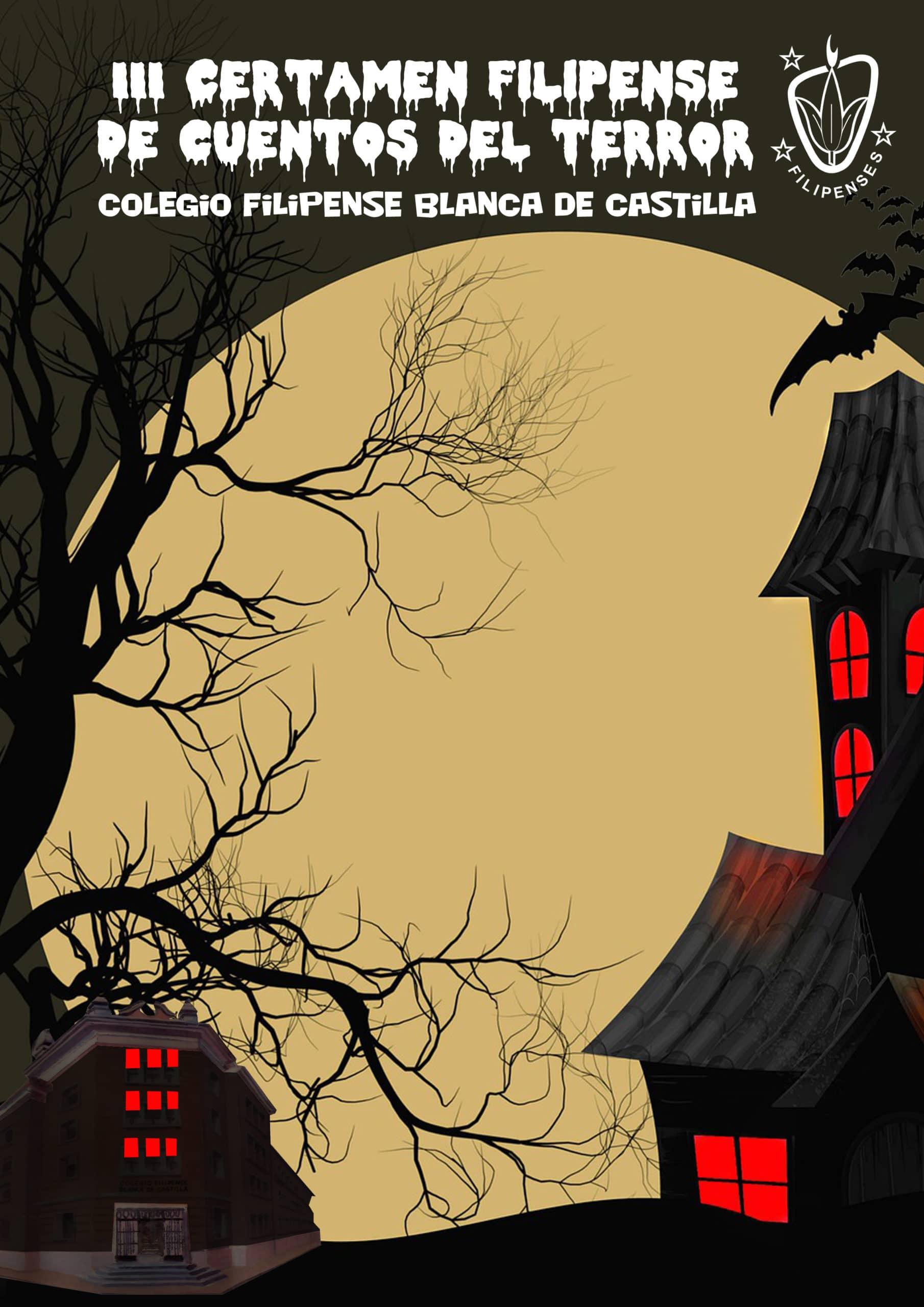 III certamen de Cuentos de Terror del colegio Filipense Blanca de Castilla