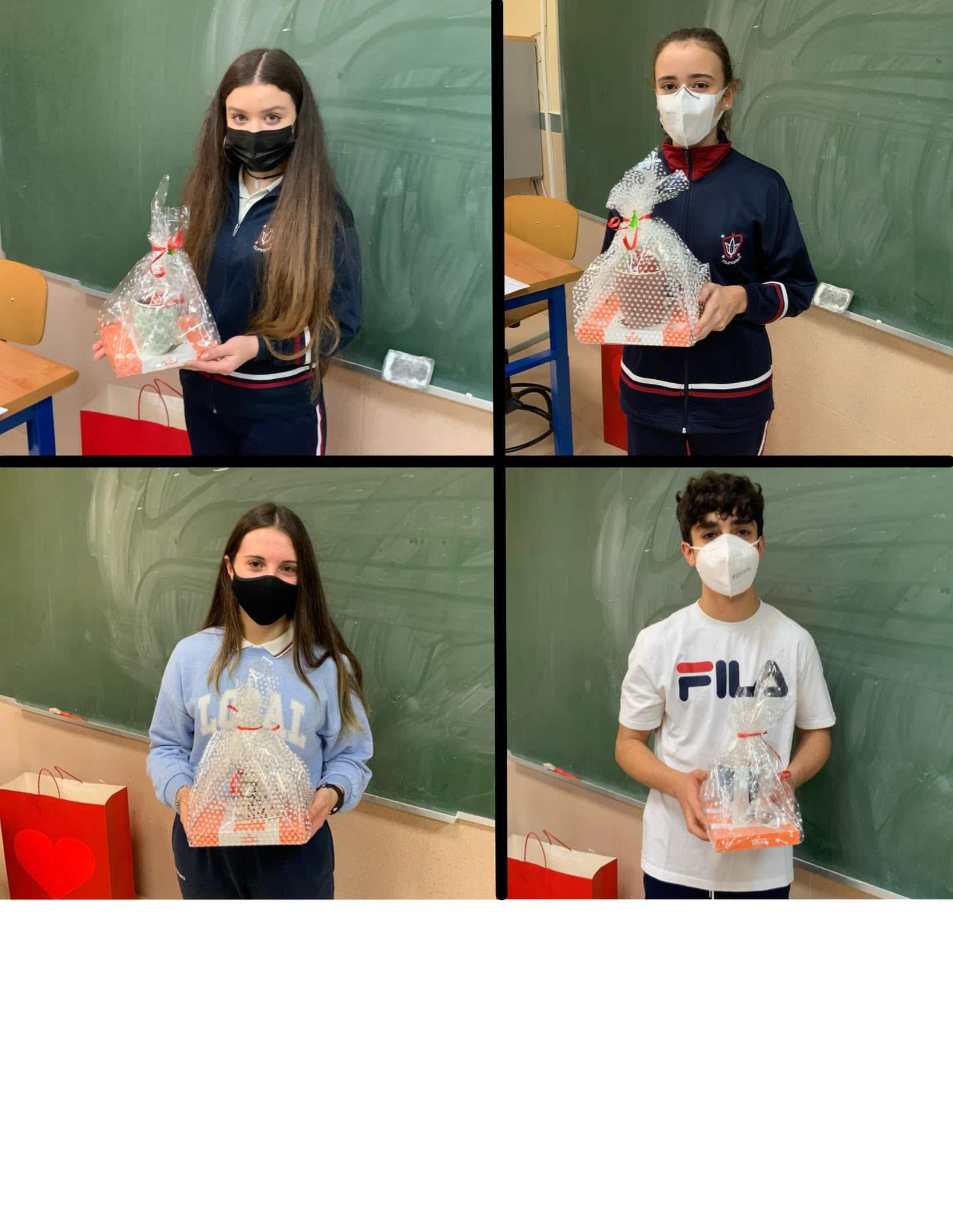 Premiados III Concurso de microrrelatos y poesía del Colegio Filipense Blanca de Castilla de Palencia