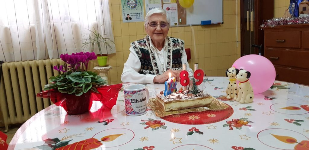 Homenaje a la Madre Elisabeth