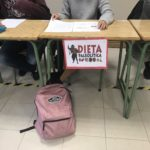 Debate sobre diferentes dietas para formarse en alimentación saludable de los alumnos de 1º de Bachillerato del Colegio Blanca de Castilla de Palencia