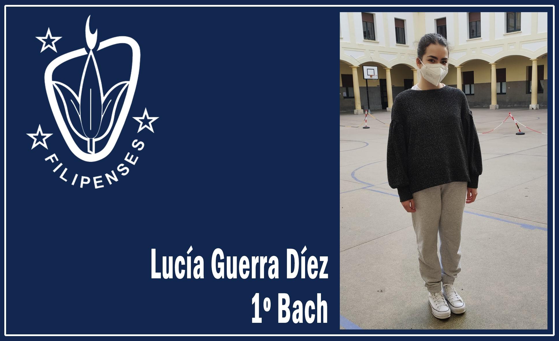 """Lucía Guerra Díez vencedora de la VIII edición del Concurso """"Carta a un militar"""" - Colegio Filipense Blanca de Castilla"""
