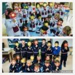 Celebración del Día del Libro por los alumnos de Educación Infantil del Colegio Blanca de Castilla de Palencia