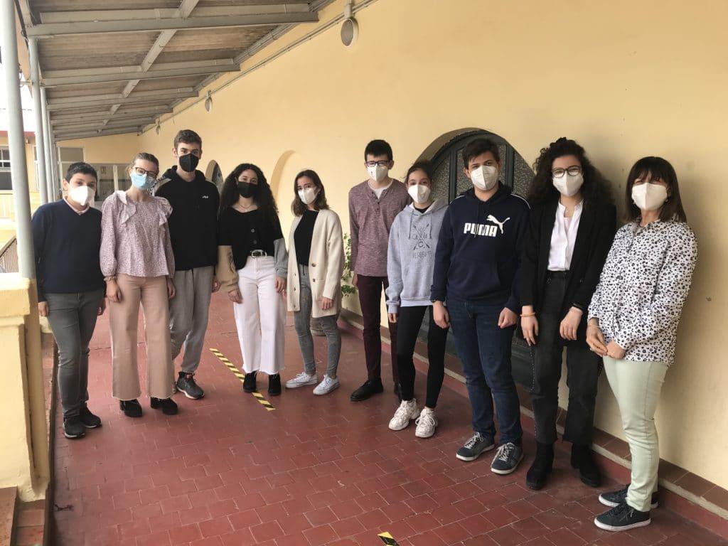 Alumnos de 4º de la ESO del Colegio Blanca de Castilla de Palencia seleccionados para el XII Congreso on line Iberdrola Innova I+D+i