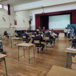 V Asamblea extraordinaria del Modelo Parlamento Europeo en la que participan los alumnos de 4º de la ESO del Colegio Filipense Blanca de Castilla de Palencia