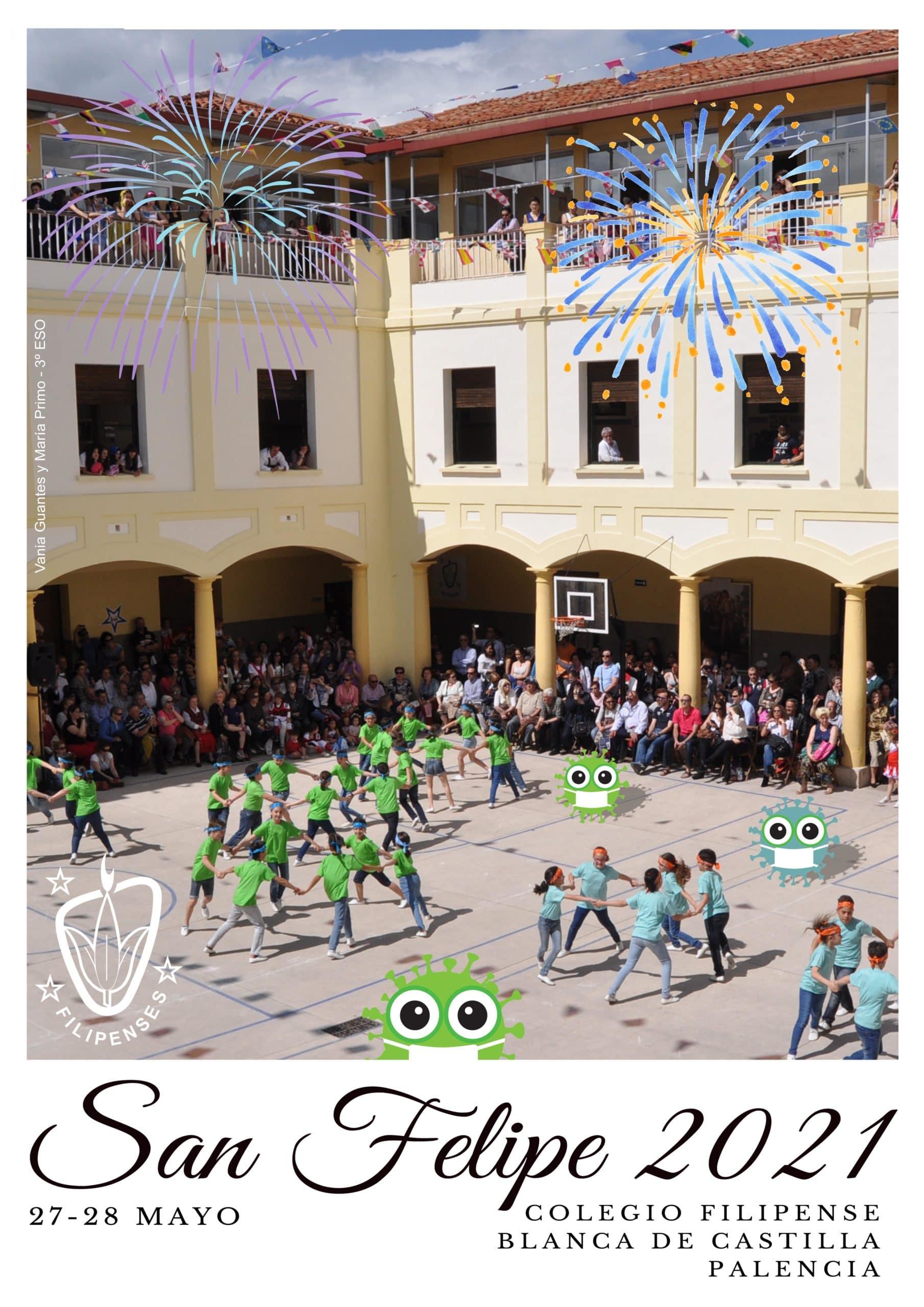 Fiestas de San Felipe 2021 del Colegio Filipense Blanca de Castilla de Palencia
