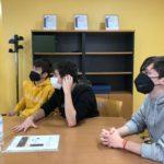 Visita a Nirosa de los alumnos de 2º de bachillerato del Colegio Filipense Blanca de Castilla de Palencia