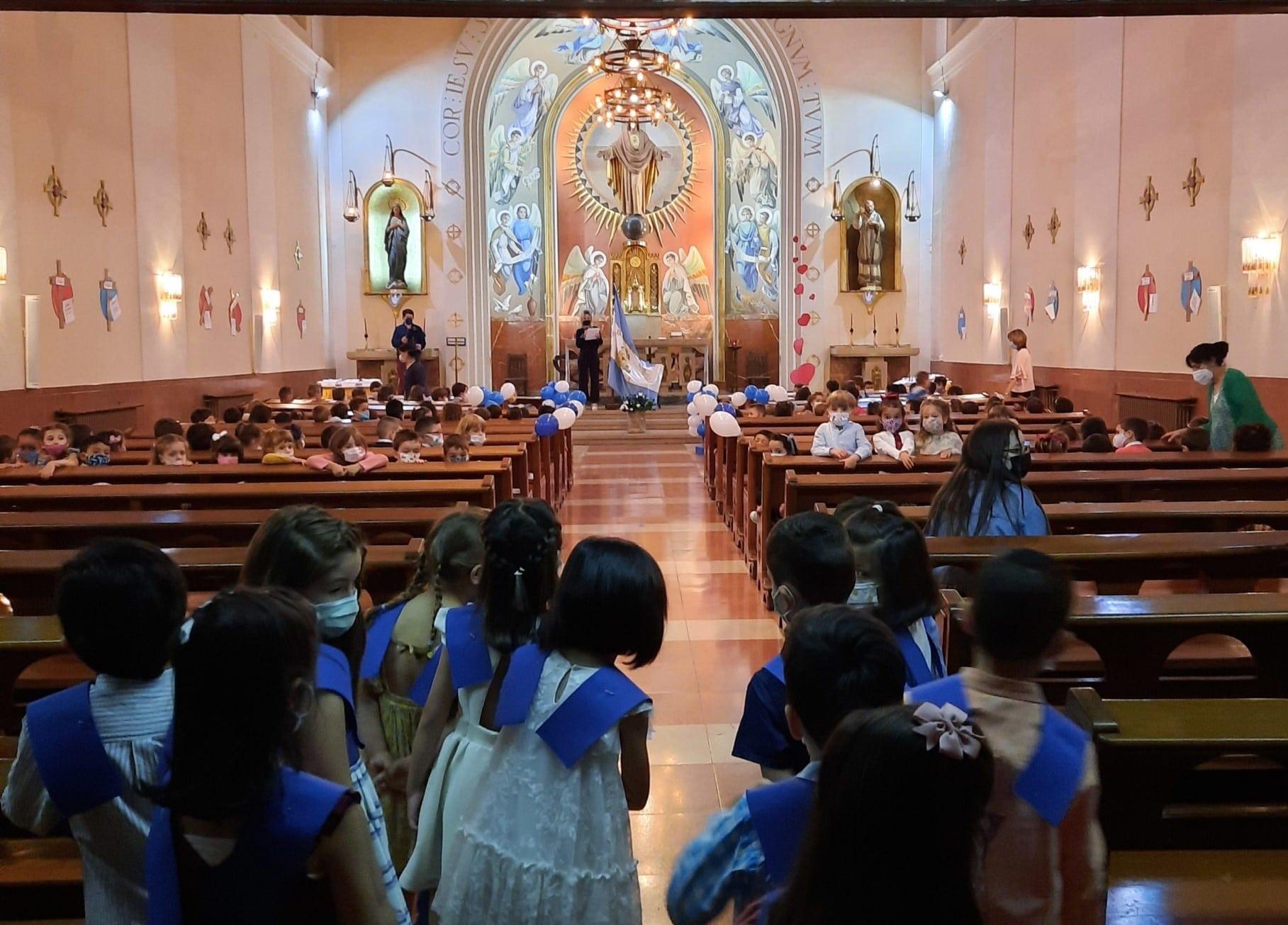 Graduación de los alumnos de Educación Infantil del Colegio Blanca de Castilla