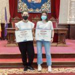 """Alumnos del Colegio Filipense Blanca de Castilla de Palencia premiados en el XVI Certamen de relato breve """"Cristina Tejedor"""""""