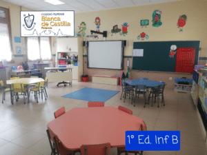 Inicio de curso de los alumnos de Educación Infantil del Colegio Filipense Blanca de Castilla de Palencia