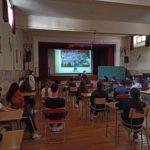 Voluntariado de los alumnos del Colegio Blanca de Castilla en el Centro Sociosanitario de Palencia, Hermanas Hospitalarias.