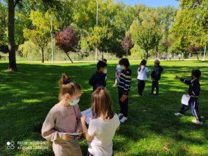 Día de convivencia de los alumnos de 2º de Educación Primaria del Colegio Blanca de Castilla de Palencia